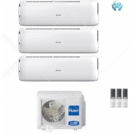 Condizionatore Climatizzatore Haier Dawn R-32 Dual Split Inverter 7000+7000 Con 2U40S2SC1FA WI-FI Ready