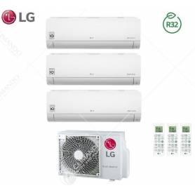 Climatizzatore Condizionatore LG Dual Split Inverter Libero R-32 9000+12000 Con MU2R15 9+12