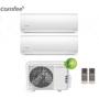 Condizionatore Climatizzatore Comfee dual split inverter Serie Sirius R-32 9000+12000 9+12 con 2E-18K