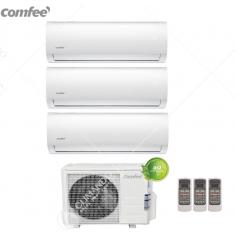 Condizionatore Climatizzatore trial split Comfee inverter Serie Sirius R-32 9000+9000+9000 9+9+9 con 3E-27K