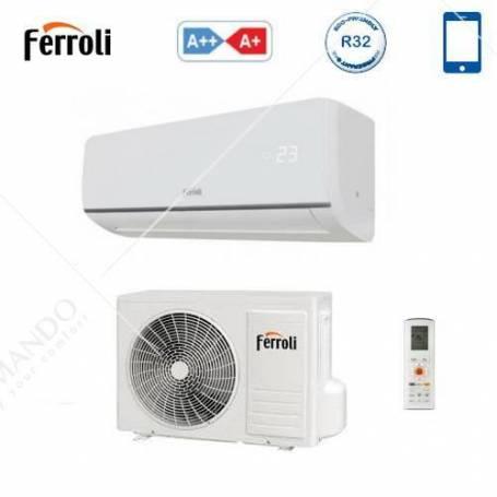 Condizionatore Climatizzatore Ferroli Aster S 3.2 Monosplit Inverter R-32 Wi-Fi 9000 BTU