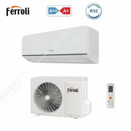 Condizionatore Climatizzatore Ferroli Aster S 3.2 E Monosplit Inverter R-32 9000 BTU