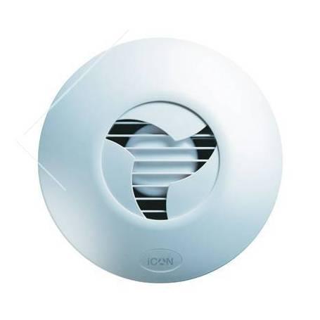 Ventilatore Icon In ABS Da Design Con Chiusura Ad Iride