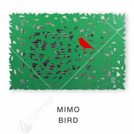 Cover Unical Mimo Per Unità Esterna Climatizzatori Modello Green Leaves Bird