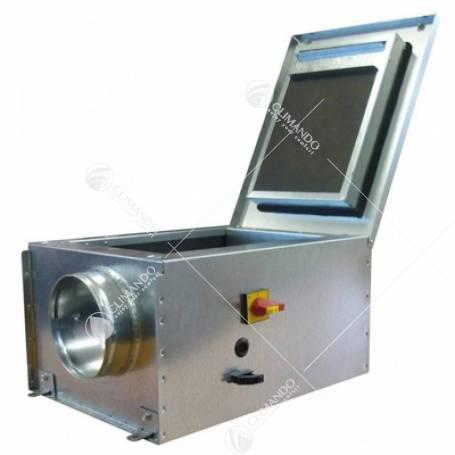 Cassonetto di Ventilazione Silens Air C3 Silenziato Con Raccordi Circolari