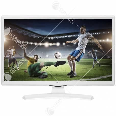 "Lg Monitor Tv 24"" Led Hdready T2/S2 24MT49VW White Eu"