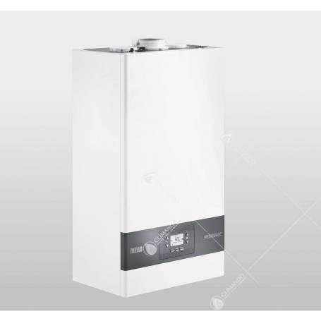 Caldaia Riello Residence Condens 20 IS metano 20 kW a condensazione ErP completa di kit fumi