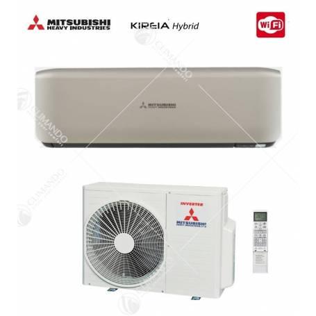 Condizionatore Climatizzatore Mitsubishi Heavy Industries DC Inverter Kireia 9000 BTU SRK 25 ZS-S WI-FI Optional Bianco