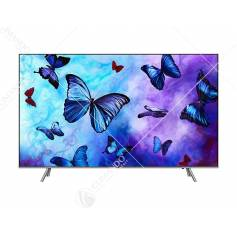 "Tv Samsung QE55Q6FNAT 55"" 4K Ultra Hd Smart Tv WI-FI Nero, Argento Led Tv"