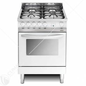 Cucina a Gas Lofra Maxima 60 Modello MB66GV Bianca a 4 Fuochi Ventilato