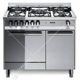 Cucina a Gas Lofra Maxima 90 Modello M95G/C 5 Fuochi Forno A Gas Con Grill Elettrico