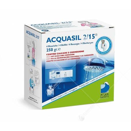 Prodotto Anticorrosivo - Antincrostante Acquasil 2/15 4 Sacche da 250 gr