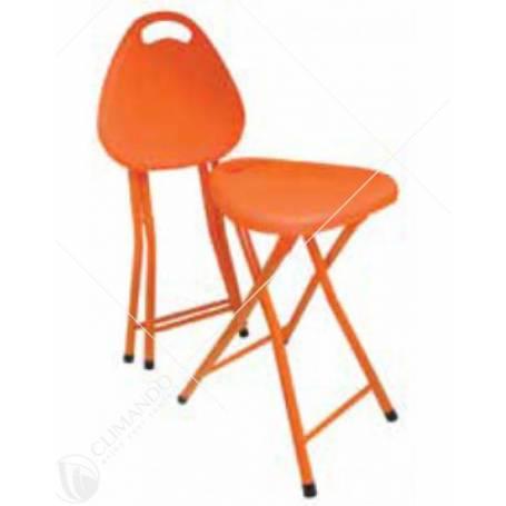 sgabello pieghevole mod.billo arancio