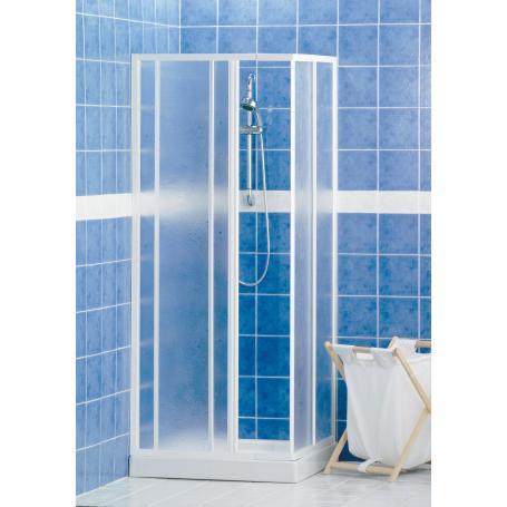 cabina doccia 79-90 h185 bianca lusso s02m