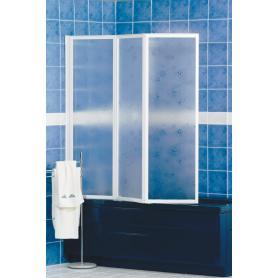parete vasca 3 ante crilex 140x180 bianca g13