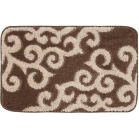 tappeto x bagno \'amalfi\' cm. 50x80 marrone