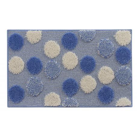 tappeto bagno ios cm.50 x 80 azzurro