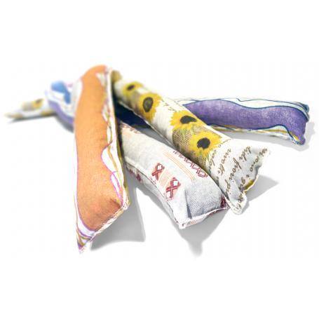 paraspifferi in stoffa colori assort. cm.140 confezione da 20