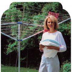 stendibiancheria ad ombrellone sviluppo mt.50