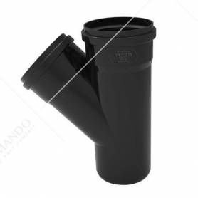 Tubo Phono Black Redi DIAMETRO 100 Innesto NERO VARI METRI