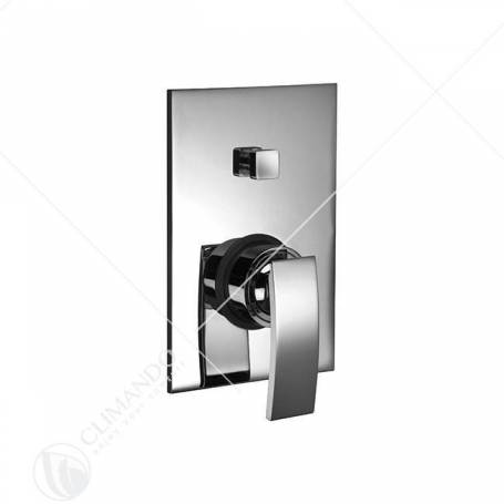 Hego Io quadro Miscelatore da incasso per doccia con deviatore automatico