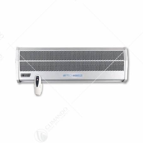 Barriera D'Aria Con Resistenza Tecnogas Tecnobreeze Hot Wind 90 CM Con Telecomando