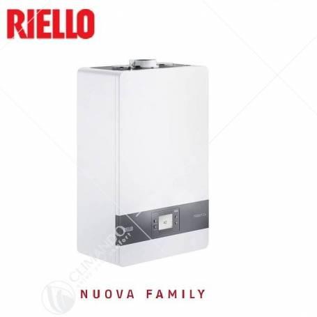 Caldaia a Condensazione Riello Family CX 25 KIS Metano Completa di Kit Scarico Fumi