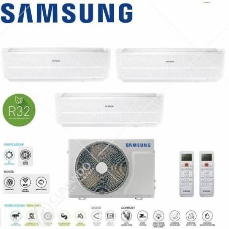 Condizionatore Climatizzatore Samsung Monosplit Inverter Windfree Evo R-32 Wi-Fi 9000 AR09RXPXBW