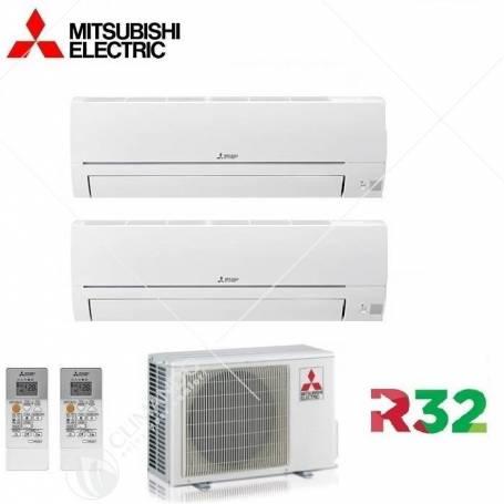 Condizionatore Climatizzatore Mitsubishi Electric Inverter Linea Smart R-32 MSZ-HR 9000 BTU MSZ-HR25VF