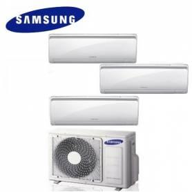 Condizionatore Climatizzatore trial split Samsung inverter 12+12+12 Maldives Quantum 12000+12000+12000 BTU con AJ052MCJ3EH/EU