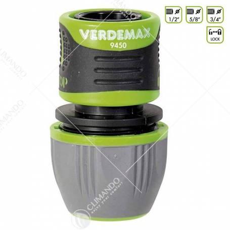 Verdemax Raccordo portagomma 1/2 - 5/8 - 3/4 lock