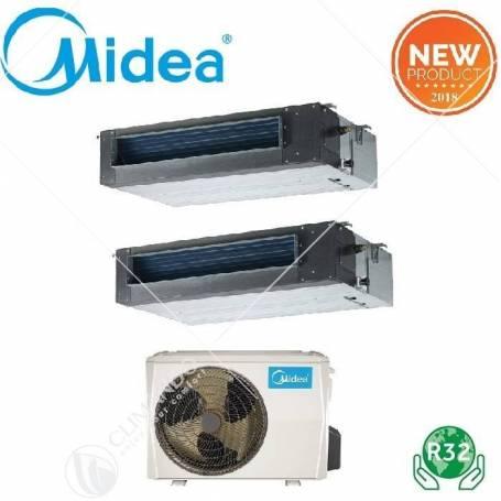 Condizionatore Climatizzatore Midea Canalizzato Inverter R32 18000 BTU MTI-18FNXD0 A