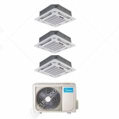 Condizionatore Climatizzatore Midea Cassetta 4 Vie Slim 90x90 R-32 18000 BTU MCD-18FNXD0