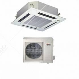 Condizionatore Climatizzatore Ferroli Monosplit Inverter R-32 a Cassetta NCS 24000 BTU 2C04911F