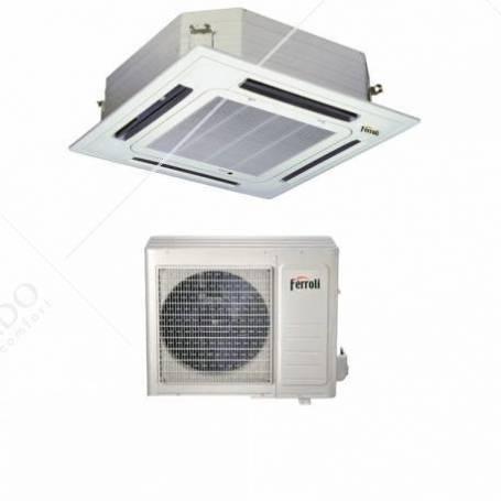 Condizionatore Climatizzatore Ferroli Monosplit Inverter R-32 a Cassetta NCS 18000 BTU 2C04910F