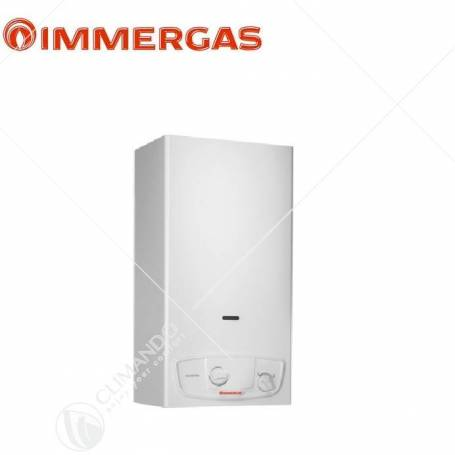 Scaldabagno a Gas Immergas Julius Eco 11 LT Low Nox Metano a Camera Aperta