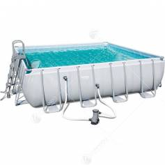 piscina c/telaio compl.cm.488x488x122h 56626