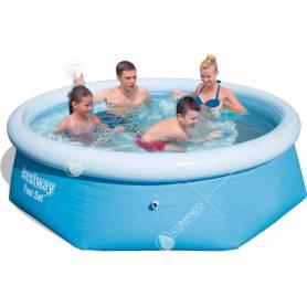 piscina gonfiabile diam.cm.244x66h 57265