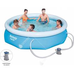 piscina gonfiab.c/pompa cm.305x76h 57270