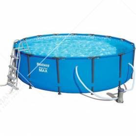 piscina c/telaio completa cm.457x107h 56488