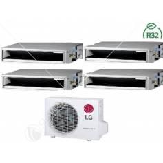 Condizionatore Climatizzatore LG Inverter Canalizzato Bassa Prevalenza 9000 BTU R-32 CL09R N20