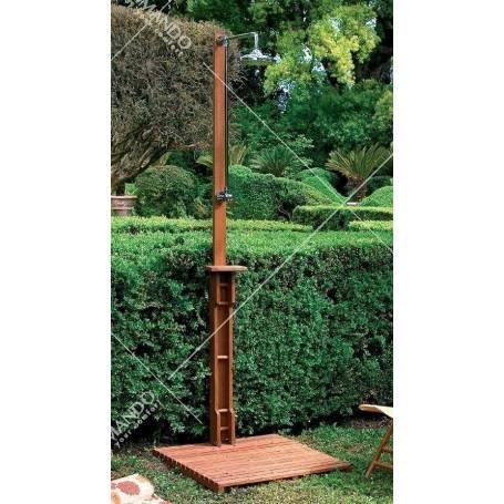"""doccia in legno c/pedana \""""caraibi\"""""""