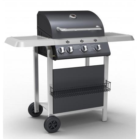 barbecue a gas 3 fuochi c/fornello h16023b
