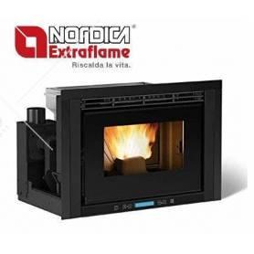 Inserto Camino a Pellet La Nordica Extraflame Mod. Comfort P70 9,7 Kw