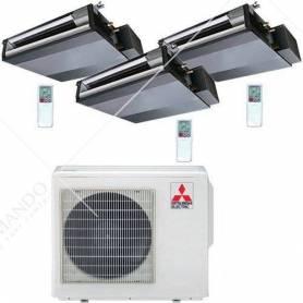 Condizionatore Climatizzatore Mitsubishi Electric Inverter Canalizzabile R-32 9000 BTU SEZ-M25DAL Wi-Fi Optional