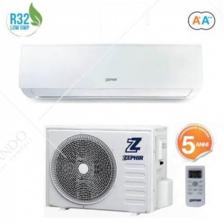Condizionatore Climatizzatore Zephir Inverter Serie Elegance R-32 12000 BTU ZEM12000