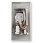 Caldaia a Condensazione Savio Edilia HE 25S Per Incasso Metano Completa di Kit Scarico Fumi