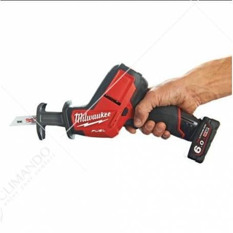 Seghetto Diritto Milwaukee Modello M12 CHZ-0 Fuel Senza Batteria e Valigetta