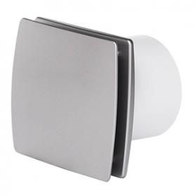 Aspiratore Elettrico Decorativo Silver Diametro 100 e Portata 100 m3/h