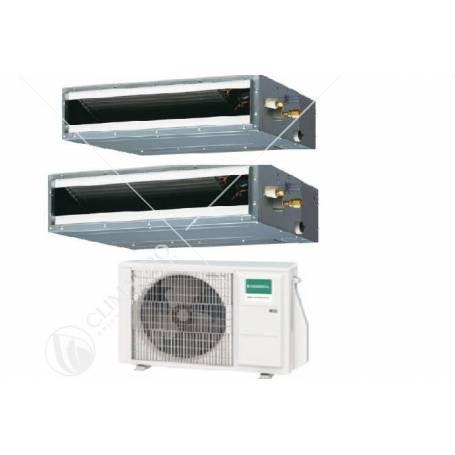 Condizionatore Climatizzatore General Fujitsu Multisplit Canalizzato Serie KLLAP R-32 9000+9000 Con AOHG14KBTA2